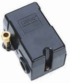 2E21-025T, Puma Pressure Switch, 95-125 psi, 4 way with ON/OFF Switch
