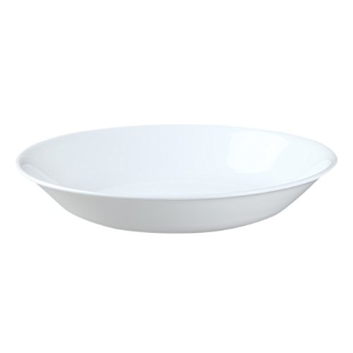 Corelle Winter Frost White 20-Ounce Bowl Set (6-Piece) (4 Rimmed Soup Bowls)