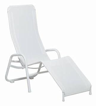 Karasek Bermuda Gesundliege weiß: Amazon.co.uk: Garden & Outdoors on chaise sofa sleeper, chaise recliner chair, chaise furniture,