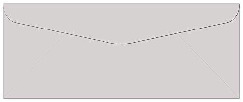 100 Gray #10 Envelopes - 9.5
