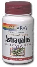 SOLARAY Астрагал экстракт, 200 мг, 30 граф