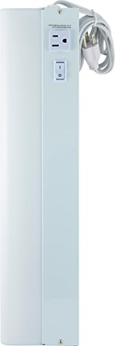 GE Advantage Fluorescent Light Fixture with Extra Outlet, 18-Inch 16546