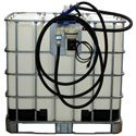 IBC Tank (Tote) Electric Pumping System with Meter and Automatic Nozzle