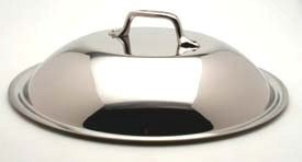 All-Clad 18/10 Stainless Steel Chefs Pan Domed Lid, 12.5 Inch