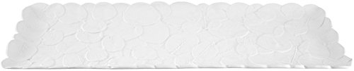 Madhouse by Michael Aram Melamine Rectangular Plank Tray, Large, Botanical Leaf
