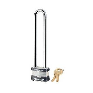 Master Lock 1LN Padlock Long Shackle 5 3/4