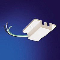Nora Lighting NT-307 Floating Canopy Feed, White
