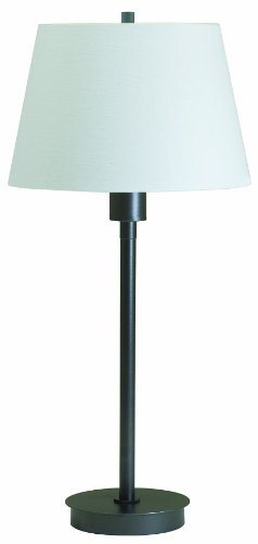 Hardback Shade Plug (House Of Troy G250-HB Generation Collection Portable Table Lamp, Hammered Bronze with Off-White Linen Hardback Shade)