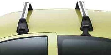BARRES DE TOIT ACIER  RENAULT TWINGO 2 3 portes de 2007 à 2013