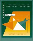 img - for Linear Algebra, Students Solutions Manual book / textbook / text book