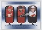 Jarome Iginla; Lanny McDonald; Roman Cervenka (Hockey Card) 2013-14 Upper Deck Trilogy - Three Star Spotlight Jerseys - Past, Present & Future #PPF-CGY