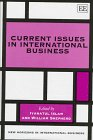 Current Issues in International Business (New Horizons in International Business)