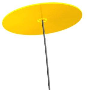 Cazador Del Sol Uno Sonnenfänger Gelb Durchmesser 20 Cm 175