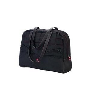 Mobile Edge Pink Handbag - Sumo 15-Inch Laptop Purse (Black with Pink)