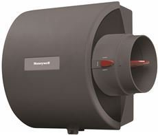 (Honeywell HE105A1000/U Whole-Home Bypass Humidifier, 12 gal/Day Capacity, Gray)