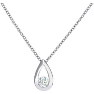 Beautiful and latest design sterling silver 015ct diamond teardrop beautiful and latest design sterling silver 015ct diamond teardrop pendant aloadofball Image collections