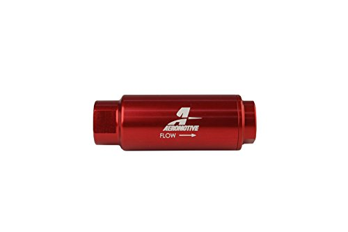 Aeromotive 12316 Filter, In-Line, 100-Micron Stainless Mesh Element, 3/8
