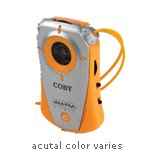 Coby CX71SLV Mini AM/FM Pocket Radio with Neck Strap, Silver