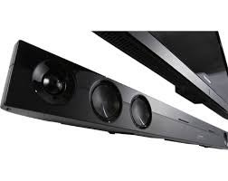 "Sharp 2.1 Channel 310 Watts Sound Bar Home Theater Speaker System with Bluetooth Technology and Wireless Subwoofer, with Dolby/DTS Decoders, Features NFC Functionality for ""Touch"" Bluetooth Pairing, Horizontal or Wall Mounted Compatible, Designed for 60 I"