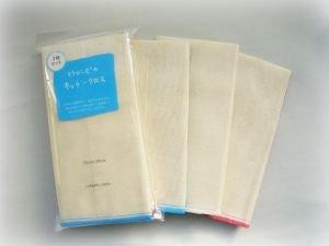 竹布 TAKEFU キッチンクロス3枚セット(台ふきん)