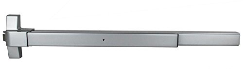 (TACO ED-501XL-AL ED-501 XL Series Trans Atlantic ED-501XL Rim Surface Exit Device in Aluminum Duranodic)