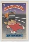 Run Down Rhoda (one star back) (Trading Card) 1985 Topps Garbage Pail Kids Series 1 - [Base] #31a.1 ()