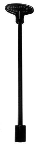 Dante Products Universal Gas Valve Key, 8-Inch, Flat Black
