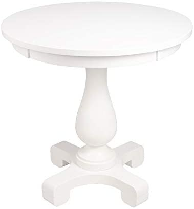 Beaumont Lane Mastercrafted End Table in White