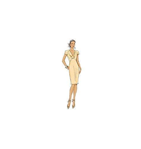 Butterick B5710 E5 tallas 40-48 Patrones de costura para vestidos de noche de mujer