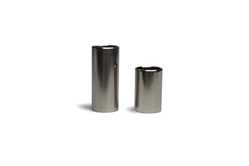 GUITARX X120 Guitar Slides Set (2-Pack) of Rust-Resistant Guitar Slides. Great Intonation, Sustain, and Sound.