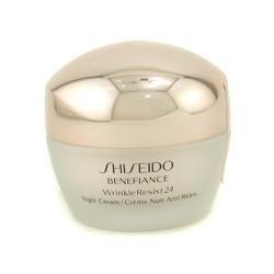 SHISEIDO by Shiseido Benefiance WrinkleResist24 Night Cream --50ml/1.7oz for WOMEN ---(Package Of (Benefiance Wrinkleresist24 Night Cream)