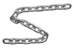 Self Colored ASC MC187302 Low Carbon Steel Straight Link Coil Chain 605 lbs Working Load Limit 13//64 Diameter x 100/' Length Apex Tool Group 13//64 Diameter x 100 Length 3//0 Trade