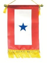 Military Service Flag - One Blue Star