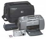 HP Photosmart M307 Digital Camera and Photosmart 145 Photo Printer Bundle (M307Bundle)