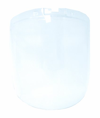 Sellstrom Replacement Window for DP4 Safety Face Shields, Anti-Fog Coating Polycarbonate, Clear Tint, S32100