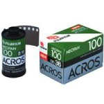 Fujifilm Neopan ACROS Black-and-White Negative Film ISO 100, 35mm, 36 Exposures