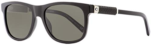 Sunglasses Montblanc MB 654 S 01D shiny black / smoke ()