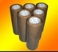 Discount 24 Rolls Brown Packaging, Packing, Sealing Tape - 3 Inches Wide x 110 Yards for sale