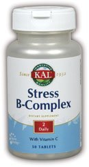 Stress B-complex 50 Tab - KAL - Stress B Complex - 50 tablets by Kal