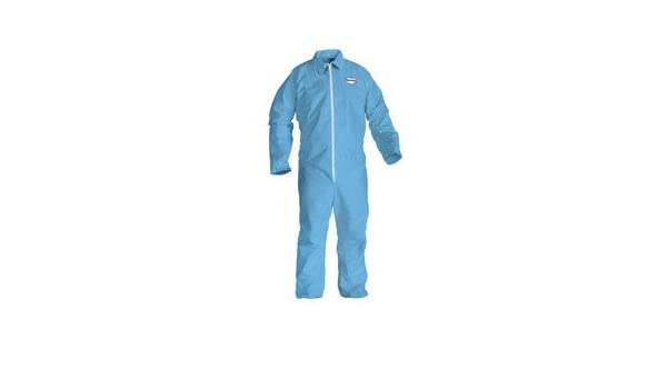 Blue Kimberly Clark Consumer 45315 A65 Flame Resistant Coveralls44; 2XL