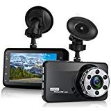 "Dash Cam, Mokcoo 1080P Full HD 3.0"" LCD Car Camera Video Recorder 170° Wide Angle Dashboard DVR Camcorder Built-in G-Sensor WDR Night Vision Loop Recording & Motion Detection"
