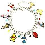 Superheroes Brand Winnie the Pooh Disney Classic Cartoon Charm Bracelet w/Gift Box Movies Premium Quality Cosplay Jewelry Series -