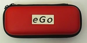 EGO E CIG CASE HOLDER - Soft Lined 10 colours to choose ALL types of EGO -T CE4 (red) by Ego