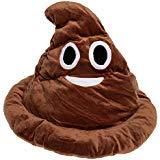 Pile Of Poop Halloween Costume (GIFTSHOP101 Emoji Poop Emoticon Soft Plush Hat Costume 13)