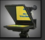 Mirror Image Teleprompters PB-15 15'' Teleprompter Package