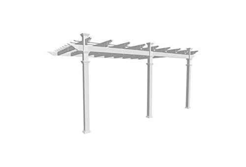 Valencia 12 x 16 Attached Vinyl Pergola