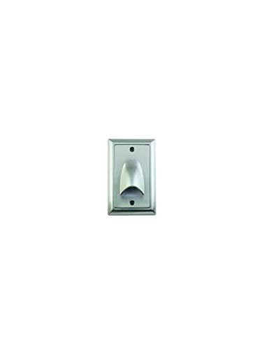 Elemental Led, Inc. Di-Matm-Tr-Bn 4.75 X 3 X 0.36 Inch Brushed Nickel Mini Direct Led Step Light Trim Plate Fixture (3 Units)