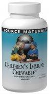 Source Naturals Childrens immunitaire, 120 comprimés à croquer