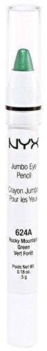 NYX Jumbo Eye Pencil Shadow Liner JEP624A Rocky Mountain Green by NYX