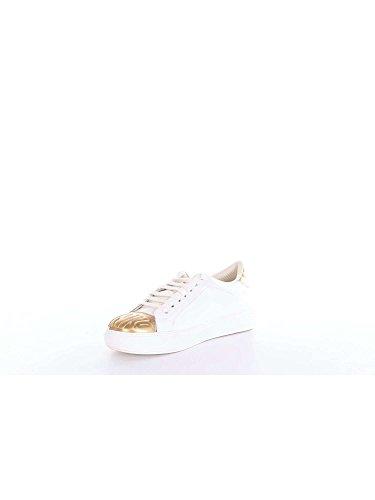 Bianco Nuove Baby Ametista Pinko Sneakers Scarpe Pelle 1 Vitello Donna Oro Shine 4wAO0x7gq